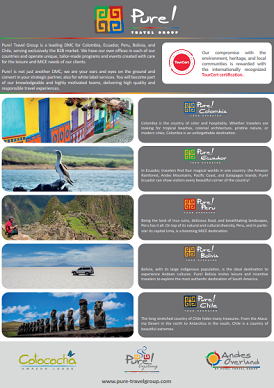 Leaflet Pure! Travel Group
