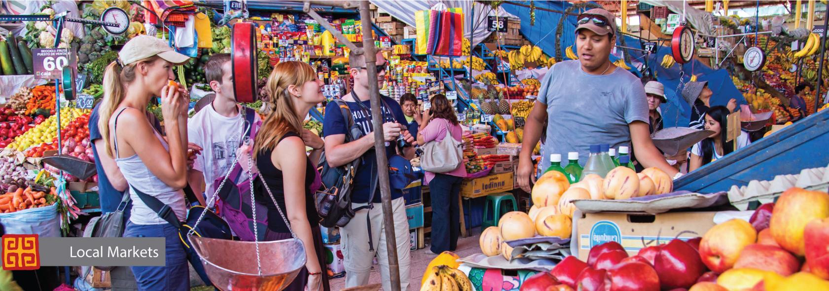 Local Market Peru