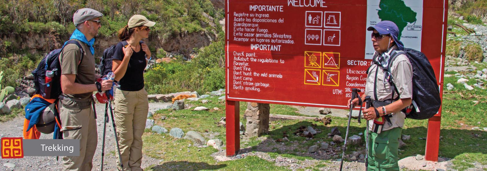 Trekking Machu Picchu Peru