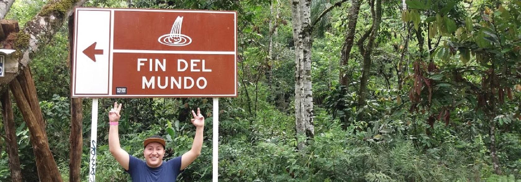 Fin del Mundo Entrada Blog Colombia Putumayo