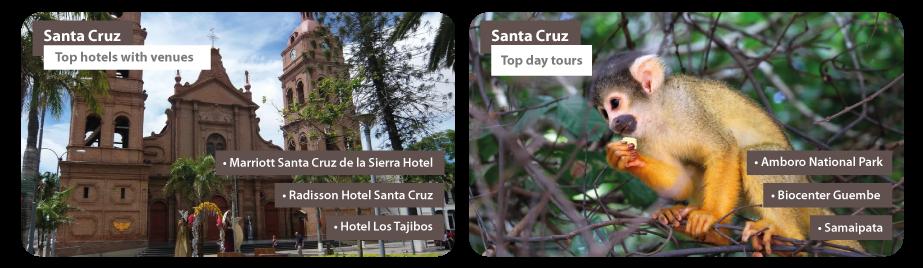 Bolivia Santa Cruz MICE