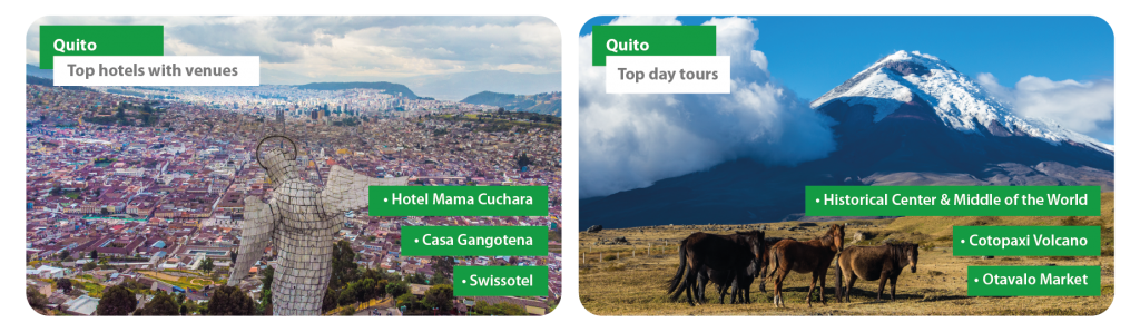 Ecuador Quito Incentive Travel