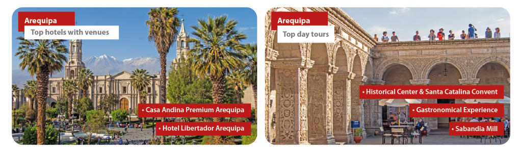 Peru Arequipa Incentive Travel