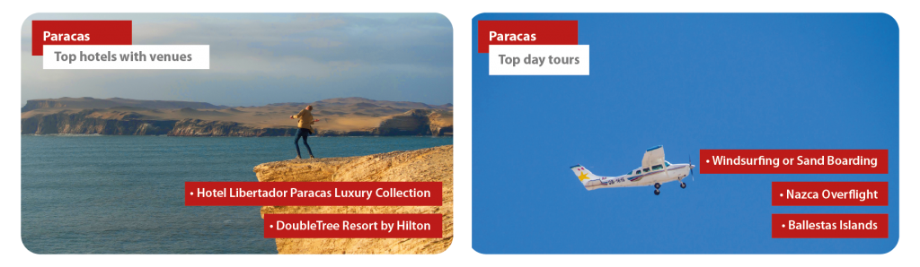 Peru Paracas Incentive Travel
