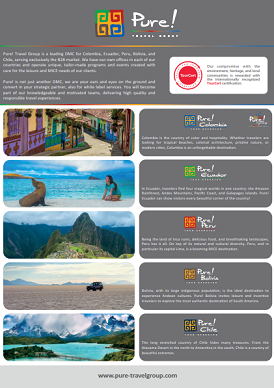 Leaflet Pure! Travel Group 2019