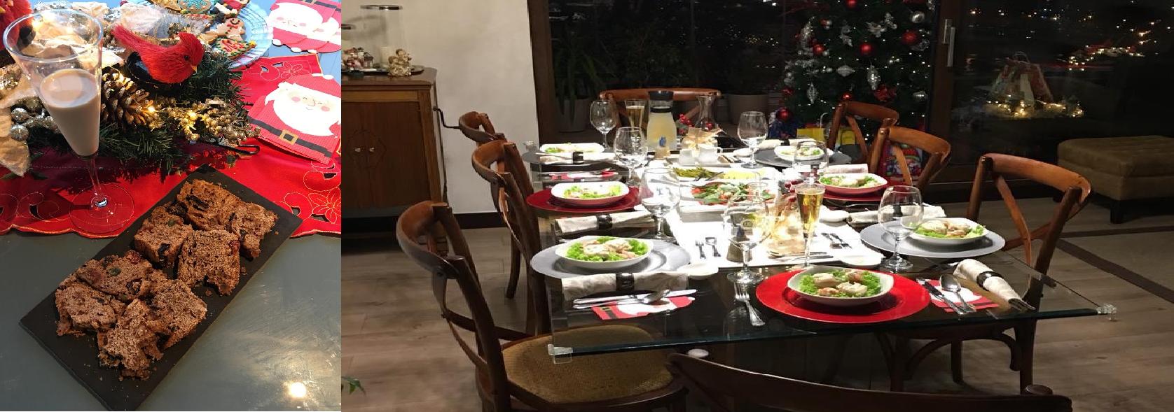 Chile Navidad Christmas Combi Table Food Traditions