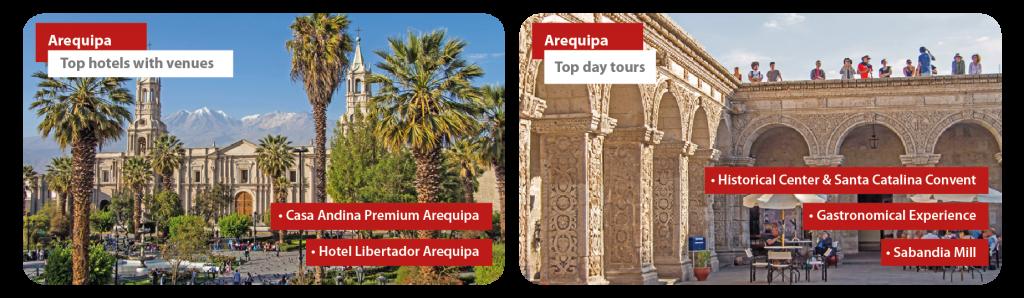 Peru Arequipa Incentive Travel